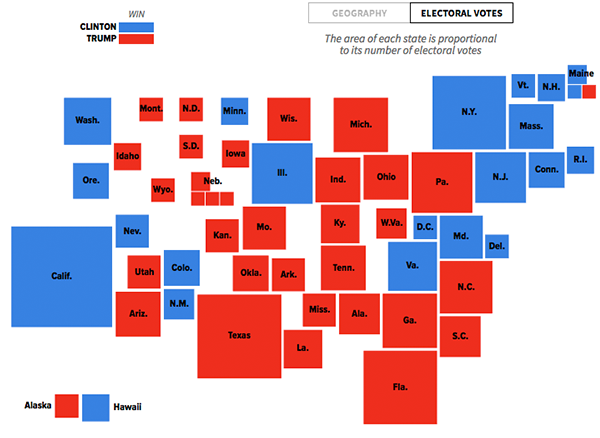 HuffPost Data - Huffington post us election map